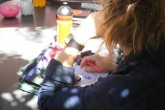 Zeichnen währen des Barcamps