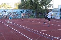 In den Pausen wird der Sportplatz genutzt.