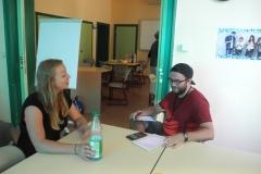Natürlich haben wir Zora auch interviewt.