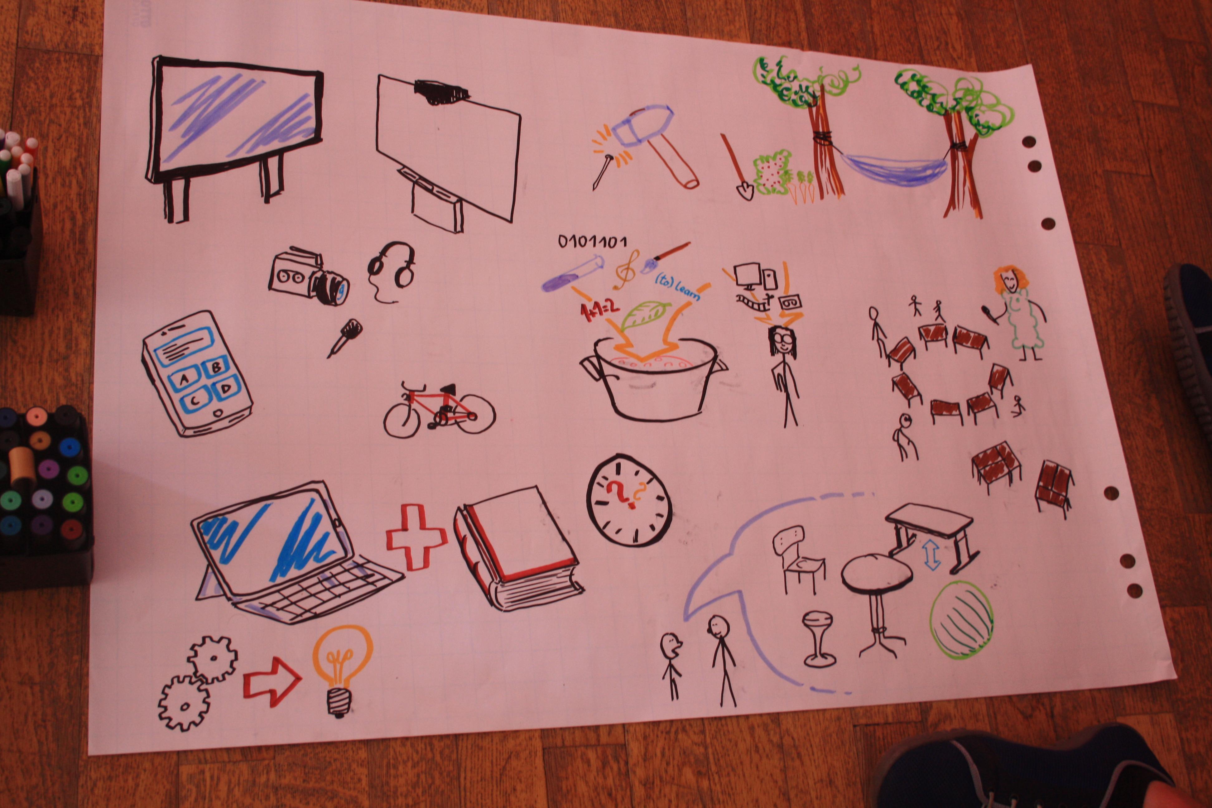 """Fertiges Plakat zum Thema """"Digitalisierung in der Schule"""""""