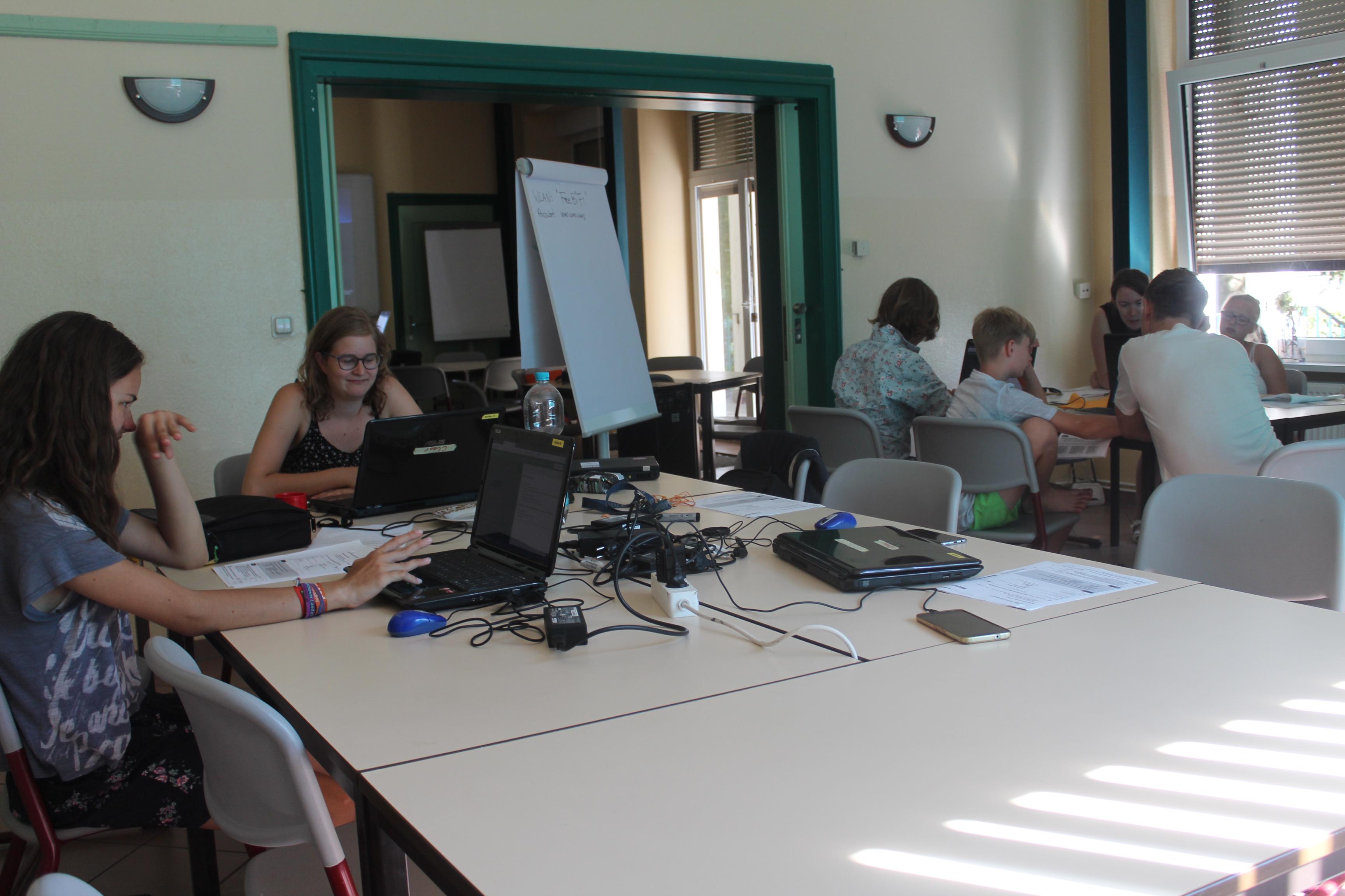 In den Workshops wurde intensiv gearbeitet.