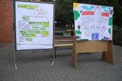 """Ergebnisse der Zukunftswerkstatt zum Thema """"Schule""""."""